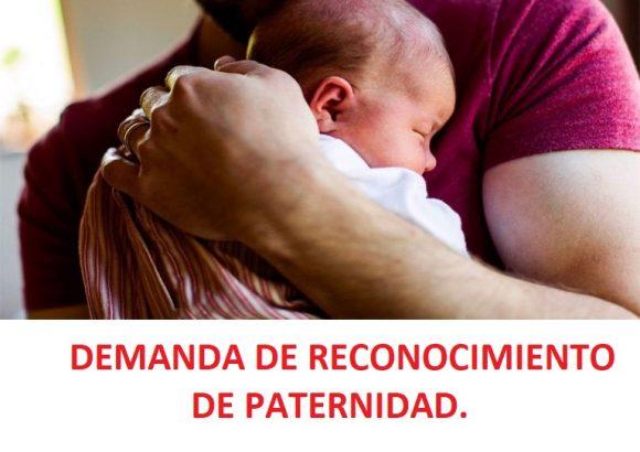 RECONOCIMIENTO DE PATERNIDAD. Cuando el padre se niega  a serlo.