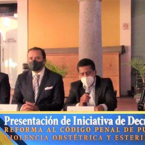 Lex Pro Humanitas presenta segunda iniciativa de reforma al Código Penal Puebla
