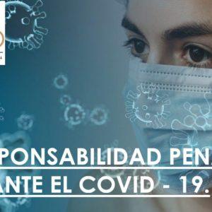 Responsabilidad penal ante el Covid-19