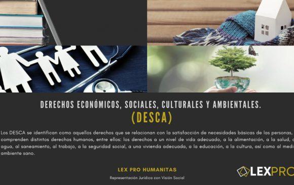 Derechos Económicos Sociales Culturales y Ambientales. DESCA